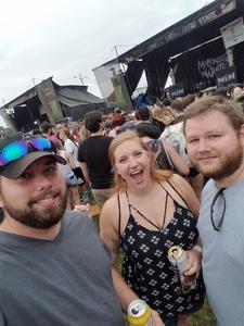 Christopher attended Vans Warped Tour 2018 on Jul 20th 2018 via VetTix