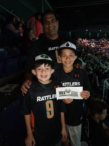 Mike attended Arizona Rattlers vs. Iowa Barnstormers - IFL on May 20th 2018 via VetTix
