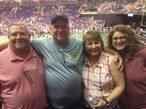 Linda attended Arizona Rattlers vs. Iowa Barnstormers - IFL on May 20th 2018 via VetTix