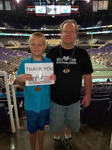 Bruce attended Arizona Rattlers vs. Iowa Barnstormers - IFL on May 20th 2018 via VetTix