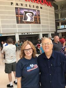 Hollee attended Arizona Rattlers vs. Iowa Barnstormers - IFL on May 20th 2018 via VetTix