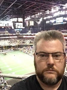 Sean attended Arizona Rattlers vs. Iowa Barnstormers - IFL on May 20th 2018 via VetTix
