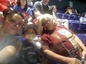 Monica attended Arizona Rattlers vs. Iowa Barnstormers - IFL on May 20th 2018 via VetTix