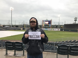 Ryan attended Gary Southshore Railcats vs. St. Paul Saints - American Association of Independent Professional Baseball on May 18th 2018 via VetTix