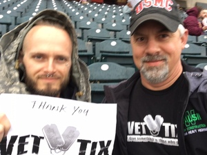 Jeffrey attended Gary Southshore Railcats vs. St. Paul Saints - American Association of Independent Professional Baseball on May 18th 2018 via VetTix