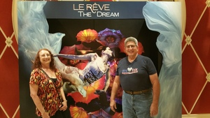 Jeff attended Le Reve - the Dream on May 7th 2018 via VetTix