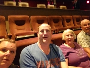 Geoff attended Le Reve - the Dream on May 7th 2018 via VetTix