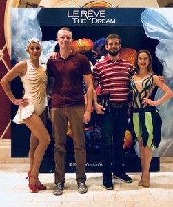 Michael attended Le Reve - the Dream on May 7th 2018 via VetTix