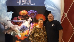 James attended Le Reve - the Dream on May 7th 2018 via VetTix