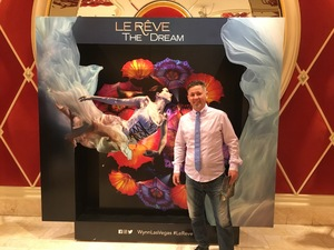 Roddy attended Le Reve - the Dream on May 7th 2018 via VetTix