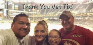 Eric attended Arizona Diamondbacks vs. Milwaukee Brewers- MLB on May 14th 2018 via VetTix