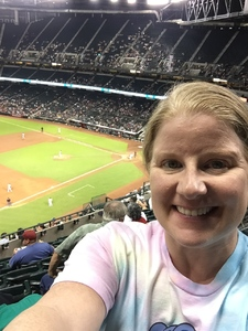 Faith attended Arizona Diamondbacks vs. Milwaukee Brewers- MLB on May 14th 2018 via VetTix