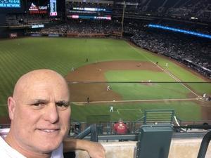 Tibor attended Arizona Diamondbacks vs. Milwaukee Brewers - MLB on May 15th 2018 via VetTix