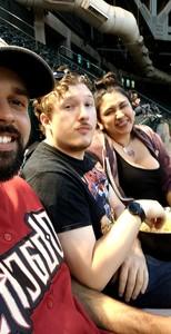 Anthony attended Arizona Diamondbacks vs. Milwaukee Brewers - MLB on May 15th 2018 via VetTix