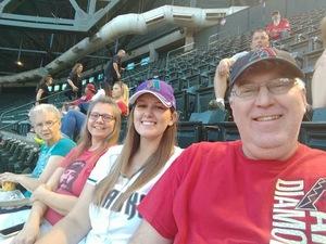 Chris attended Arizona Diamondbacks vs. Milwaukee Brewers - MLB on May 15th 2018 via VetTix