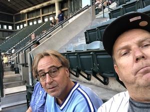 Michael attended Arizona Diamondbacks vs. Milwaukee Brewers - MLB on May 15th 2018 via VetTix
