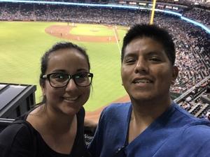 LUIS attended Arizona Diamondbacks vs. Milwaukee Brewers - MLB on May 15th 2018 via VetTix