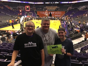 Jerry attended Phoenix Mercury vs. Seattle Storm - WNBA on May 12th 2018 via VetTix