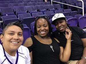 Veronica attended Phoenix Mercury vs. Seattle Storm - WNBA on May 12th 2018 via VetTix
