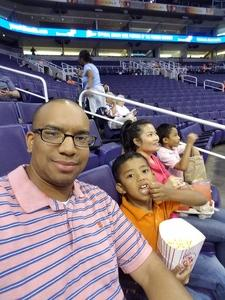Tyrone attended Phoenix Mercury vs. Seattle Storm - WNBA on May 12th 2018 via VetTix