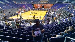 Vernon attended Phoenix Mercury vs. Seattle Storm - WNBA on May 12th 2018 via VetTix