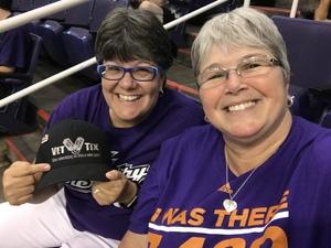 Lorie attended Phoenix Mercury vs. Seattle Storm - WNBA on May 12th 2018 via VetTix
