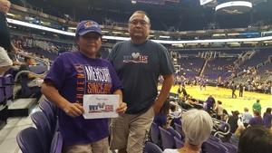 Wil attended Phoenix Mercury vs. Seattle Storm - WNBA on May 12th 2018 via VetTix