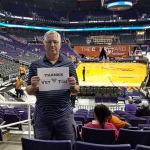 PhilR9 attended Phoenix Mercury vs. Seattle Storm - WNBA on May 12th 2018 via VetTix