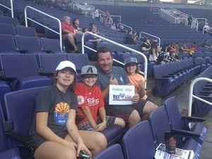 DOUGLAS attended Phoenix Mercury vs. Seattle Storm - WNBA on May 12th 2018 via VetTix
