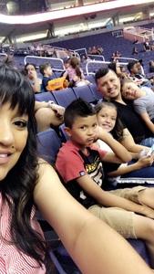 Elijah attended Phoenix Mercury vs. Seattle Storm - WNBA on May 12th 2018 via VetTix