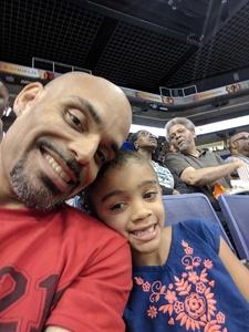 daniel attended Phoenix Mercury vs. Seattle Storm - WNBA on May 12th 2018 via VetTix