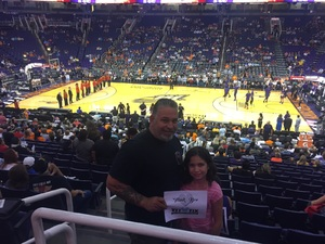Brandon attended Phoenix Mercury vs. Washington Mystics - WNBA on May 30th 2018 via VetTix