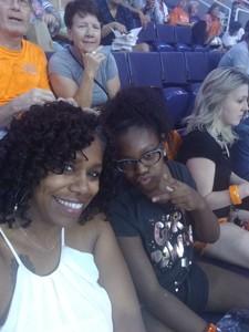 Tiffany attended Phoenix Mercury vs. Chicago Sky - WNBA on Jun 8th 2018 via VetTix