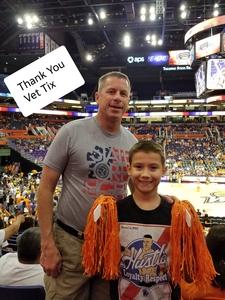 Mark attended Phoenix Mercury vs. Chicago Sky - WNBA on Jun 8th 2018 via VetTix