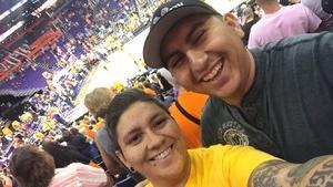 Veronica attended Phoenix Mercury vs. Chicago Sky - WNBA on Jun 8th 2018 via VetTix