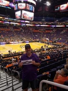 David attended Phoenix Mercury vs. Chicago Sky - WNBA on Jun 8th 2018 via VetTix