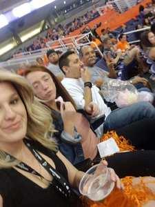 Ismael attended Phoenix Mercury vs. Chicago Sky - WNBA on Jun 8th 2018 via VetTix