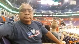 Wil attended Phoenix Mercury vs. Chicago Sky - WNBA on Jun 8th 2018 via VetTix