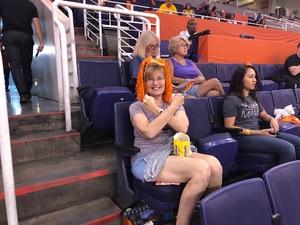 Richard attended Phoenix Mercury vs. Chicago Sky - WNBA on Jun 8th 2018 via VetTix