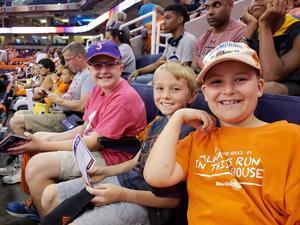 Blake attended Phoenix Mercury vs. Chicago Sky - WNBA on Jun 8th 2018 via VetTix