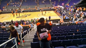Vernon attended Phoenix Mercury vs. Minnesota Lynx - WNBA on Jun 22nd 2018 via VetTix