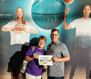 Robert attended Phoenix Mercury vs. Minnesota Lynx - WNBA on Jun 22nd 2018 via VetTix