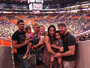 Brandon attended Phoenix Mercury vs. Minnesota Lynx - WNBA on Jun 22nd 2018 via VetTix