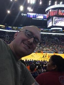 Kenneth attended Phoenix Mercury vs. Connecticut Sun - WNBA on Jul 5th 2018 via VetTix