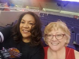 Linda attended Phoenix Mercury vs. Connecticut Sun - WNBA on Jul 5th 2018 via VetTix