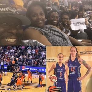 John Graves attended Phoenix Mercury vs. Connecticut Sun - WNBA on Jul 5th 2018 via VetTix