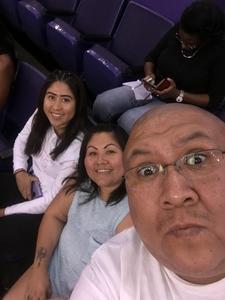 Marissa attended Phoenix Mercury vs. Connecticut Sun - WNBA on Jul 5th 2018 via VetTix