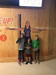 Jack attended Phoenix Mercury vs. Connecticut Sun - WNBA on Jul 5th 2018 via VetTix