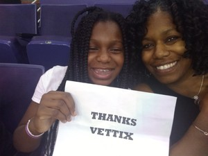 Tiffany attended Phoenix Mercury vs. Connecticut Sun - WNBA on Jul 5th 2018 via VetTix
