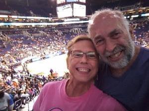 Bruce attended Phoenix Mercury vs. Connecticut Sun - WNBA on Jul 5th 2018 via VetTix